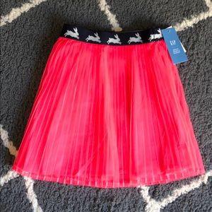 Baby Gap SJP Girls Hot Pink Pleated Tulle Skirt 2T
